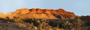 Australian landscape colorful Mount Chambers