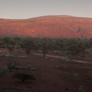 Mount Augustus on sunrise