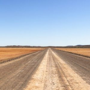 The Endless Road in a vast continent.